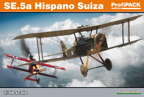 Eduard Aircraft 1/48 SE5a Hispano Suiza Aircraft Profi-Pack Kit