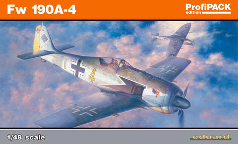 Eduard Aircraft 1/48 Fw190A Fighter Profi-Pack Kit