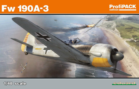 Eduard Aircraft 1/48 Fw190A3 Fighter Profi-Pack Kit