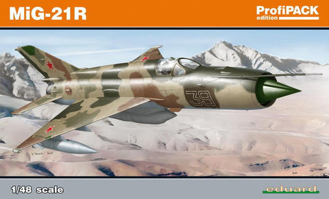 Eduard Aircraft 1/48 MiG21R Fighter Profi-Pack Kit