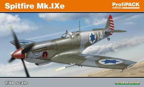 Eduard Aircraft 1/48 Spitfire Mk IXe Fighter Profi-Pack Kit