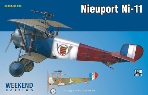 Eduard Aircraft 1/48 Nieuport Ni11 Aircraft Wkd. Edition Kit