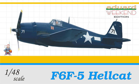 Eduard Aircraft 1/48 F6F5 Hellcat US Fighter Wkd. Edition Kit