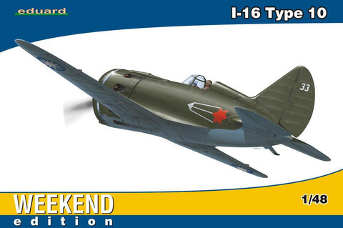 Eduard Aircraft 1/48 I16 Type 10 Fighter Wkd. Edition Kit