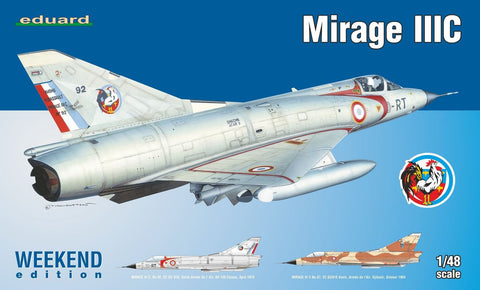 Eduard Aircraft 1/48 Mirage III C Fighter Wkd. Edition Kit