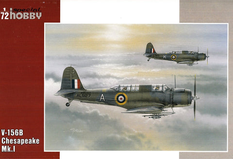 Special Hobby 1/72 V156B Chesapeake Mk I Aircraft Kit
