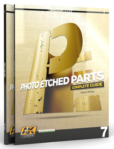 AK Interactive Learning Series 7: Photo-Etched Parts Complete Guide Book