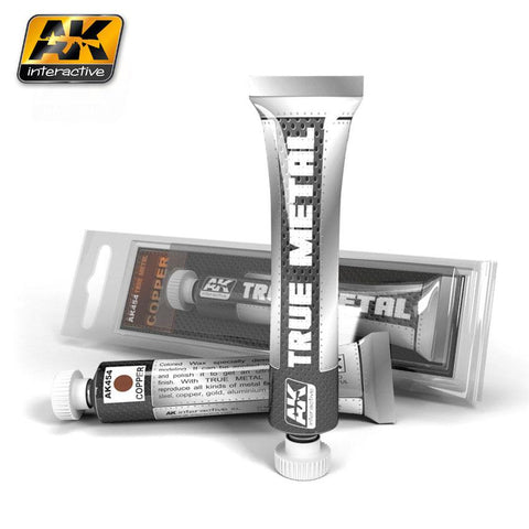 AK Interactive True Metal Wax Copper 20ml Tube