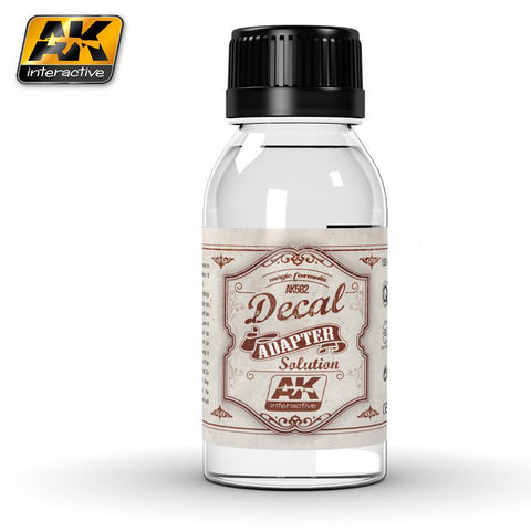 AK Interactive Decal Adapter Solution 100ml Bottle