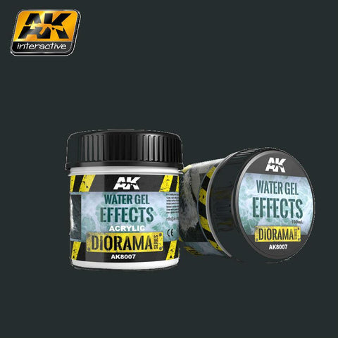 AK Interactive Diorama Series: Water Gel Effects Acrylic 100ml Bottle