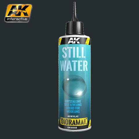 AK Interactive Diorama Series: Still Water Effect Liquid Crystalline Acrylic 250ml Bottle