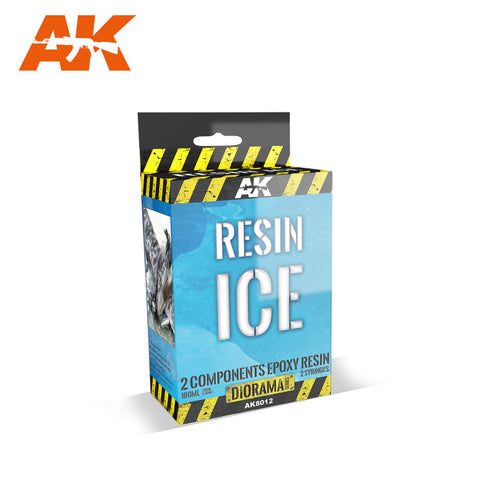 AK Interactive Diorama Series: Resin Ice Effect 2-Components Epoxy 180ml