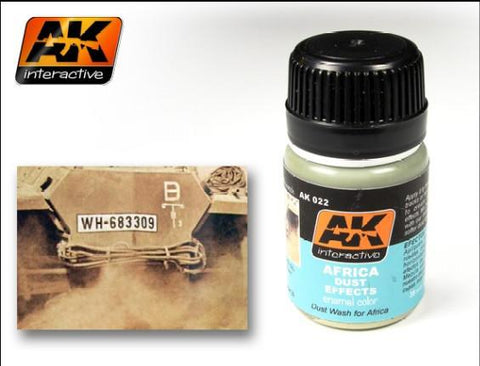 AK Interactive Africa Dust Effects Enamel Paint 35ml Bottle