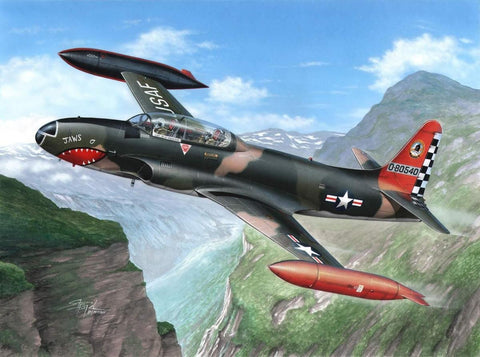Special Hobby 1/32 T33A T-Bird Aircraft over Europe Kit
