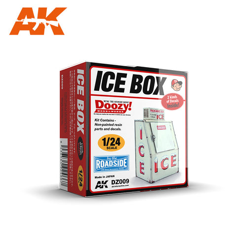AK Interactive 1/24 Doozy Series: Ice Box Commercial Version (Resin) Kit