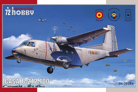 Special Hobby Aircraft 1/72 CASA C212-100 Aviocar Medium Transport Aircraft Kit