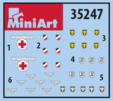 MiniArt 1/35 German Infantry Weapons & Equipment Kit