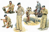 Master Box 1/35 Commonwealth AFV Crew w/Camel (6) Kit