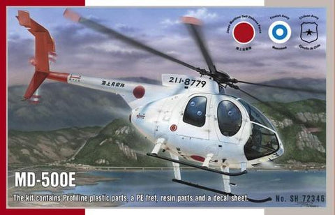 Special Hobby Aircraft 1/72 MD500E Light Utility Helicopter Kit