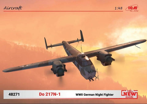 ICM Aircraft 1/48 WWII German Do217N1 Night Fighter (New Tool) Kit