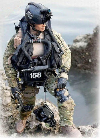 ICM Military Models 1/24 SEAL Team Fighter #1 (New Tool) Kit