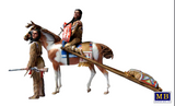 Master Box Ltd 1/35 On the Great Plains Indian Family w/Horse & Accessories