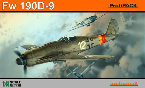 Eduard Aircraft 1/48 Fw190D9 Fighter Profi-Pack Kit (Re-Issue)