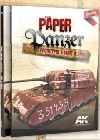 AK Interactive Books - Paper Panzer: Prototypes & What if Tanks Book