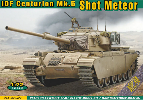 Ace Military 1/72 IDS Centurion Mk 5 Shot Meteor Tank Kit