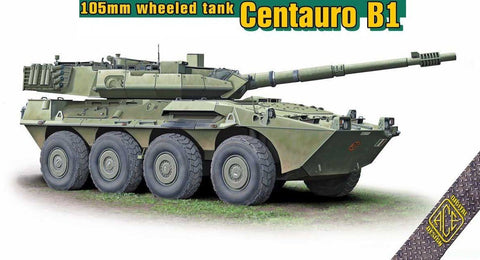 Ace 1/72 Centauro B1 105mm Wheeled Tank Destroyer Kit