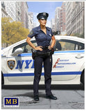Master Box Ltd 1/24 Ashley Modern Police Woman Kit