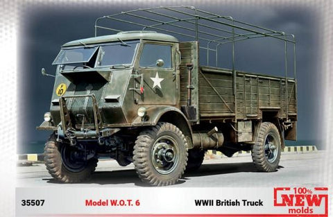 ICM Military 1/35 WWII British Model WOT 6 Truck (New Tool) Kit