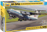 Zvezda 1/144 Russian IL76 MD Strategic Airlifter Aircraft