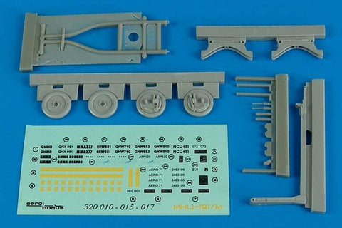 Aerobonus Details 1/32 MHU191/M Munition Transporter w/Aero 58 Adapter