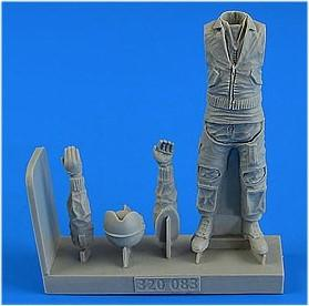 Aerobonus Details 1/32 German Modern Luftwaffe/Marine Fighter Pilot (Standing) Kit