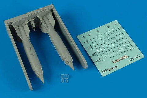 Aerobonus Details 1/48 KAB500L Laser Guided Bombs