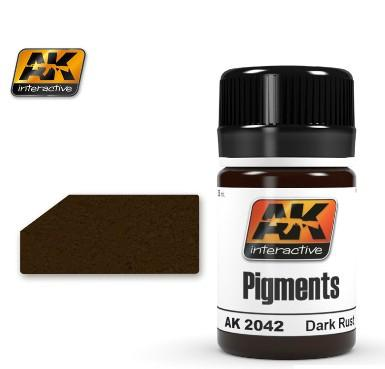 AK Interactive Dark Rust Pigment 35ml Bottle