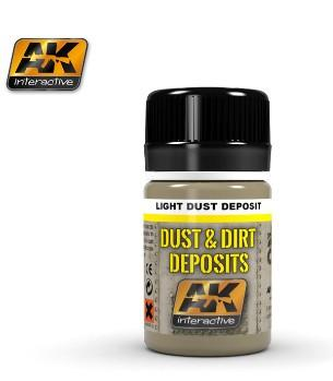 AK Interactive Dust & Deposit Light Dust Enamel Paint 35ml Bottle