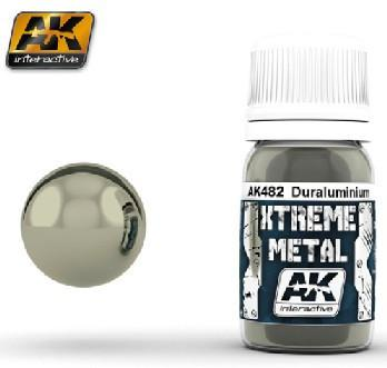 AK Interactive Xtreme Metal Duraluminum Metallic Paint 30ml Bottle
