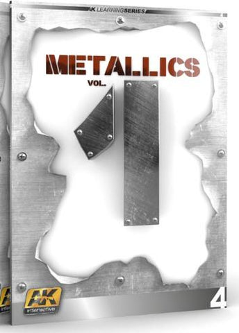 AK Interactive Metallics Vol. 1 Learning Series Book