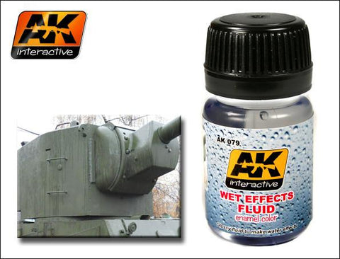 AK Interactive Wet Effects Fluid Enamel Paint 35ml Bottle