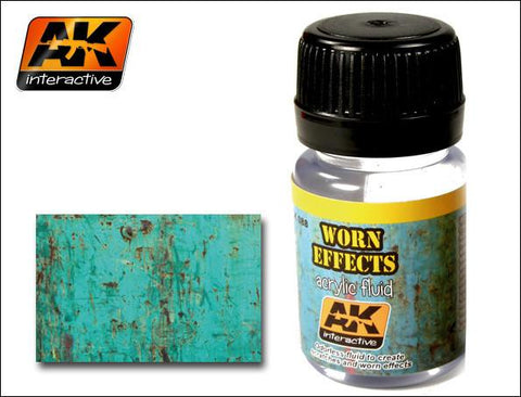 AK Interactive Worn Effects Acrylic Paint 35ml Bottle