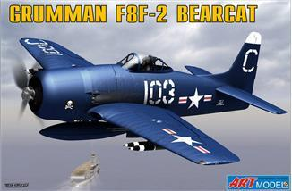 Art 1/72 F8F2 Bearcat USN Fighter Ltd. Edition Kit