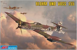 Art 1/72 155V2 WWII German Interceptor Ltd. Edition Kit