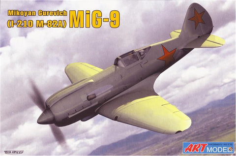Art 1/72 MiG9 (I210/m82A) Soviet Fighter Kit