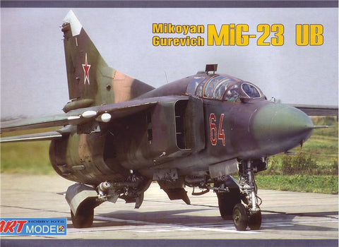 Art 1/72 MiG23UB Training Aircraft Kit