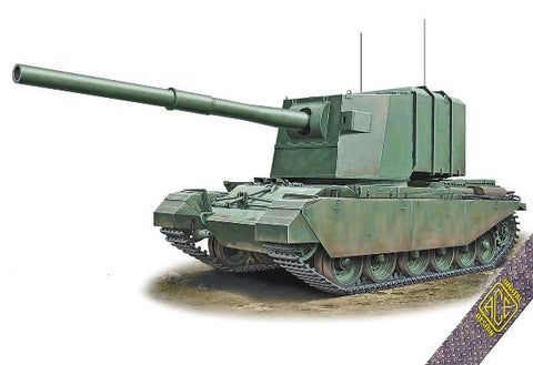 Ace 1/72 FV4005 Centurion Experimental Tank Destroyer w/183mm Gun Kit