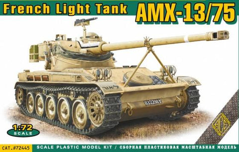Ace Military 1/72 AMX13/75 Light French Tank Kit