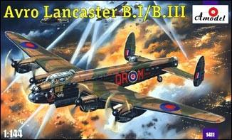 A Model From Russia 1/144 Avro Lancaster BI/BIII RAF Bomber Kit