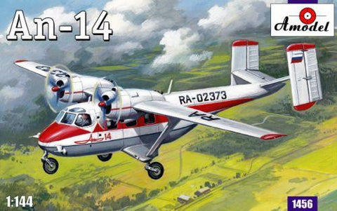 A Model From Russia 1/144 Antonov An14 Aircraft Kit